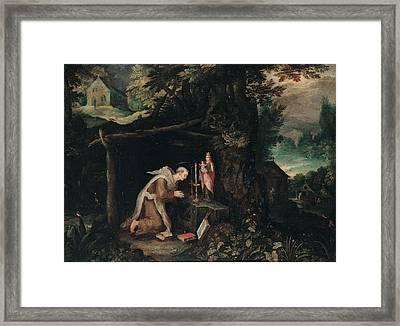 Probably Bruegel Jan Called Bruegel Framed Print by Everett