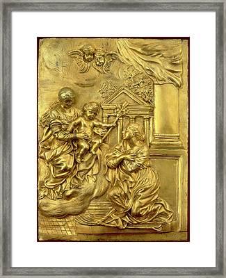 Probably Cosimo Fancelli, After Pietro Da Cortona Framed Print by Litz Collection
