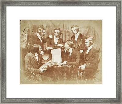 Probationers Of The Free Church Framed Print