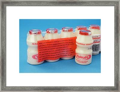 Probiotic Drinks Framed Print by Trevor Clifford Photography