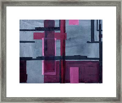 Procedural Painting  V2.0.4 Framed Print by Cathal Lindsay