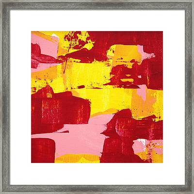 Framed Print featuring the painting Process C2013 by Paul Ashby