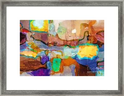 Process Framed Print by Lutz Baar