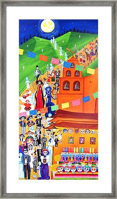 Procession Framed Print by Evangelina Portillo