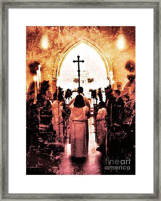 Procession Of Light Framed Print by Kevyn Bashore