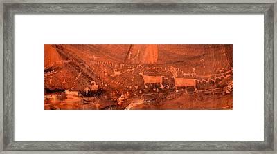Procession Panel Framed Print