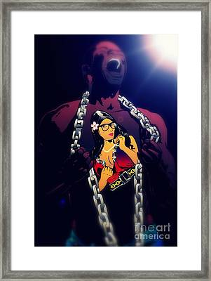 Professor Faulty Cover 1b Framed Print by Justin Moore