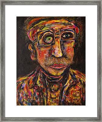 Professor Framed Print by Natalie Holland
