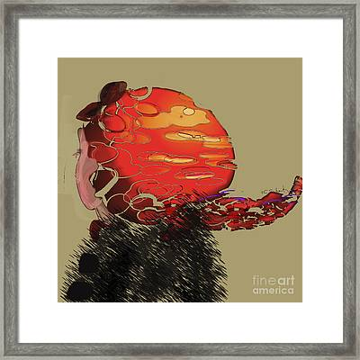 Profile Framed Print by Gabrielle Schertz