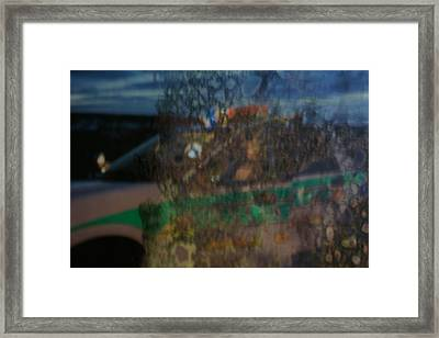 Profile In The Window. Framed Print by Carol Brown