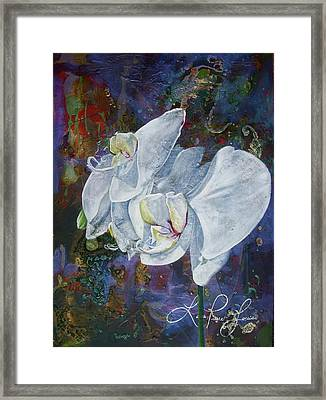Profile Framed Print by Laura Pierre-Louis