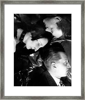Profile Portraits Of The British Sitwell Family Framed Print by Cecil Beaton