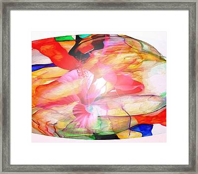 Profound Thought Natures Center Framed Print by Catherine Lott