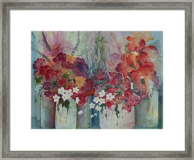 Profusion Framed Print