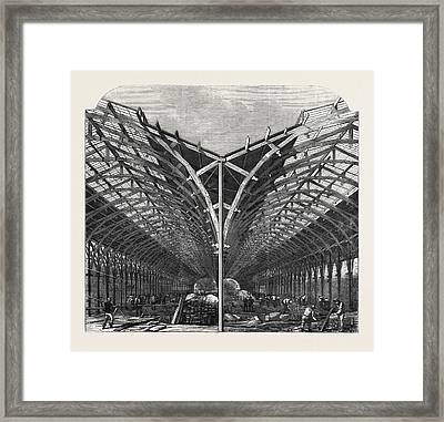 Progress Of The International Exhibition The Machinery Framed Print by English School