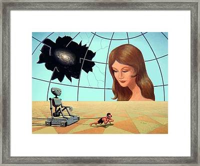Progress Framed Print by Ron Juge