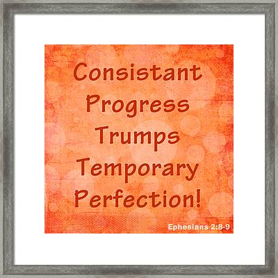 Progress Framed Print by Stephanie Grooms