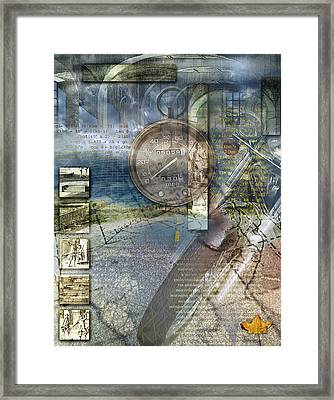 Progressions Framed Print