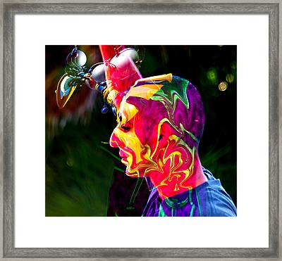 Progressive Thinking Framed Print by Camille Lopez