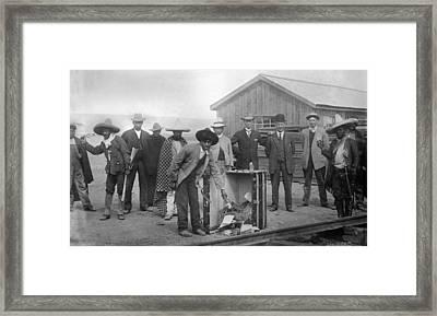 Prohibition, 1910s Framed Print