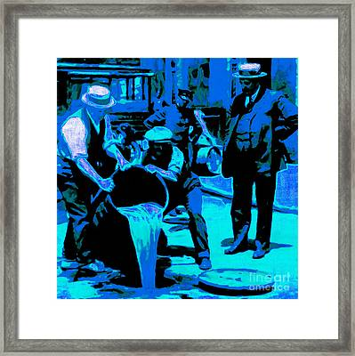 Prohibition 20130218m180 Framed Print by Wingsdomain Art and Photography