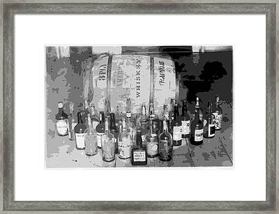 Prohibition Art Framed Print by Daniel Hagerman