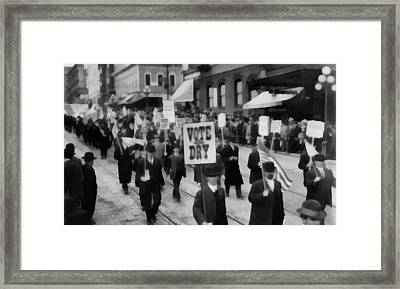 Prohibition Framed Print by Dan Sproul