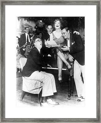 Prohibition: Speakeasy Framed Print