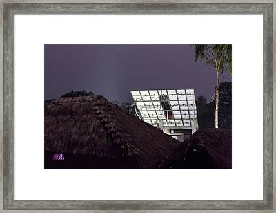Project To Supply Renewable Electricity Framed Print