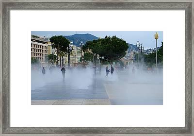 Promenade Des Arts Nice Framed Print
