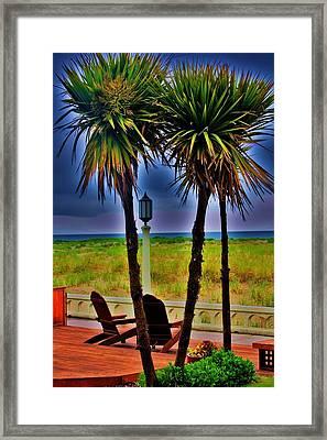 Promenade Framed Print by Helen Carson