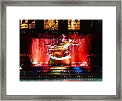 Prometheus Framed Print by Dan Sproul