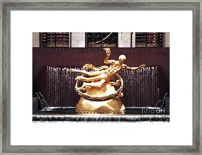 Prometheus Unbound Framed Print