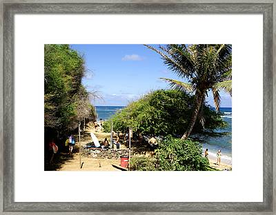 Prominades Promises Propositions  Framed Print by Kevin Smith