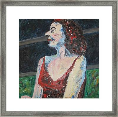 Prominent And Proud Framed Print by Esther Newman-Cohen