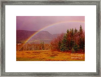Promise And Hope Cape Breton Framed Print