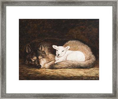 Promise Of Peace Framed Print by Gale Smith