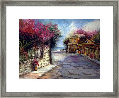 Promised Land Beauty Framed Print
