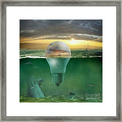 Promised Land Framed Print by Franziskus Pfleghart