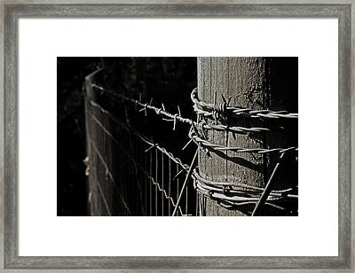 Promised Land Framed Print by Odd Jeppesen