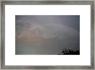 #promisespromises Framed Print by Becky Furgason