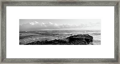 Promontory La Jolla Ca Framed Print by Panoramic Images