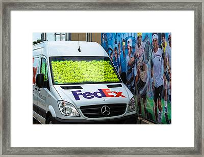 Promotion During The Atp Trophy In Stuttgart - Germany Framed Print by Frank Gaertner