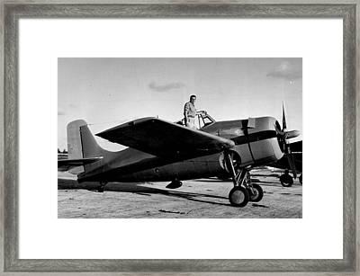 Prop Airplane Framed Print