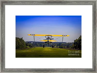 Prop Wash Framed Print by Marvin Spates