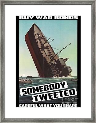 Propaganda Redone Framed Print