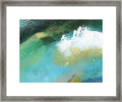 Propel Natural Framed Print by L J Smith