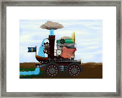 Propelled By Optimism Framed Print