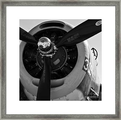 Propeller Framed Print