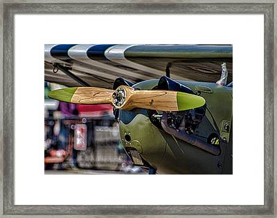 Propellor Framed Print by Martin Newman